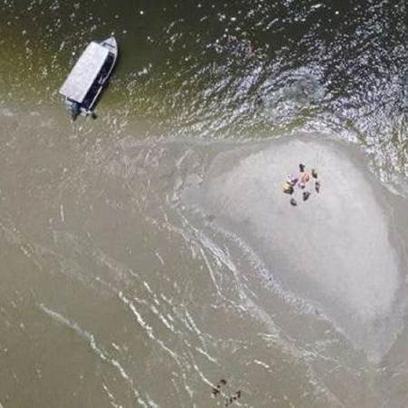 O corpo de Jonathan da Cruz Salgado foi encontrado em uma praia de Ilha Comprida, no litoral de São Paulo - Arquivo Pessoal/Júlio Cesar Ferreira
