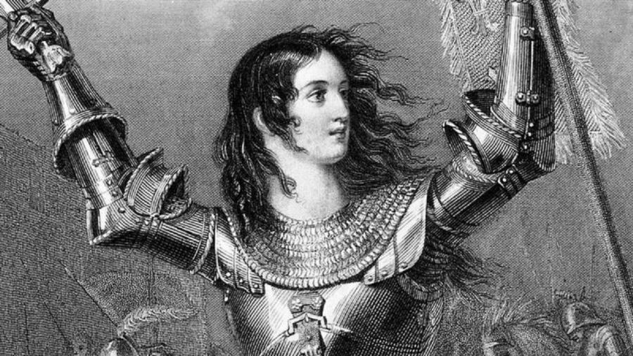 Joana não empunhava uma espada, mas sim um estandarte - Getty Images