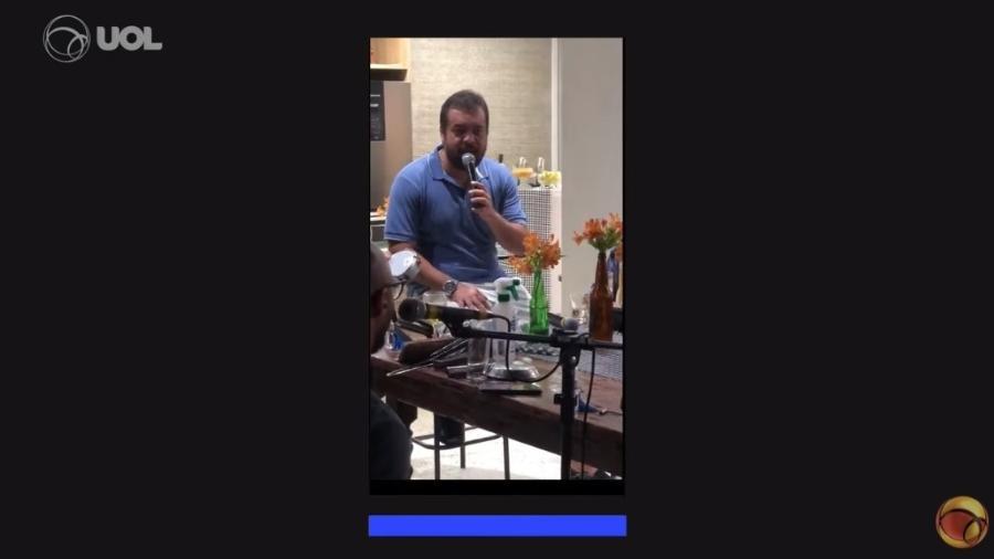 Governador do RJ, Cláudio Castro fez festa sem máscara em fevereiro de 2021 - UOL