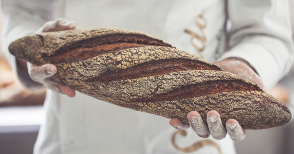 Pão australiano da padaria móvel Sagrado Boulangerie