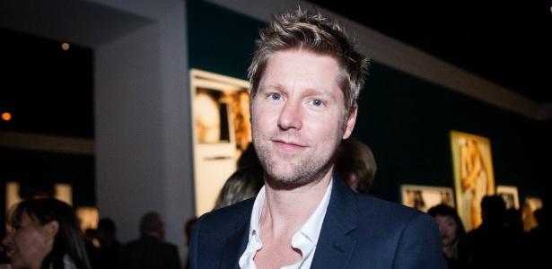 O estilista Christopher Bailey, presidente e chefe-criativo da grife de luxo Burberry