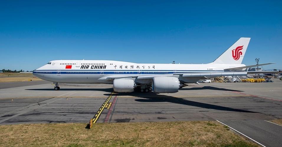 Avião 747-8 da Boeing