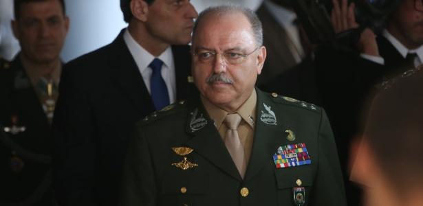 19.jul.2016 - O ministro-chefe do Gabinete de Segurança Institucional da Presidência da República, general Sergio Etchegoyen