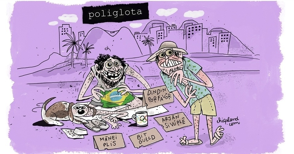 5.ago.2016 - O país vai dando o 'jeitinho' brasileiro para aproveitar as Olimpíadas
