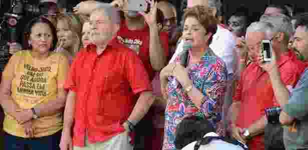 """Dilma e Lula participam da """"inauguração popular"""" da transposição do rio São Francisco - Beto Macário/UOL"""