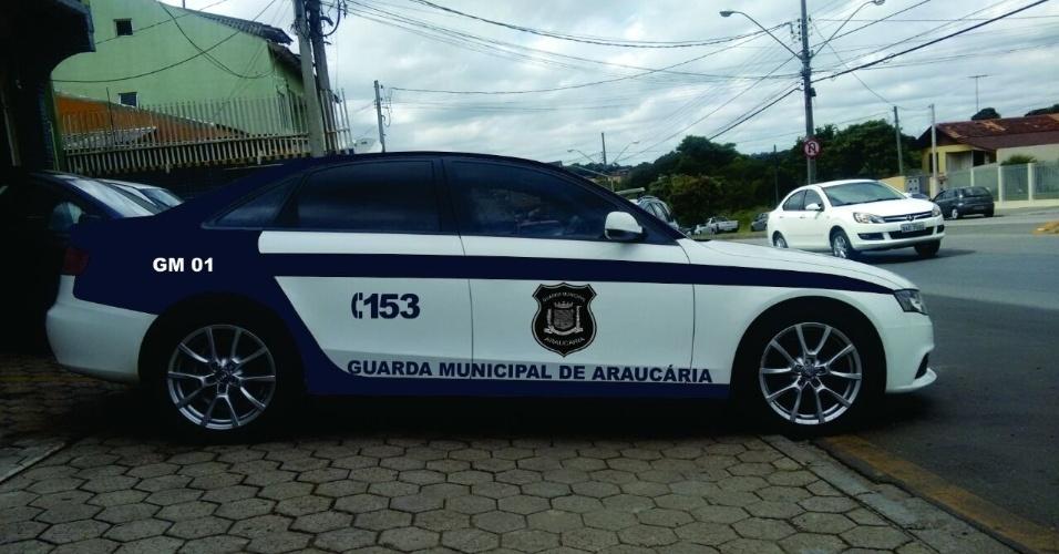 A Guarda Municipal de Araucária recebeu carros de luxo para patrulhas