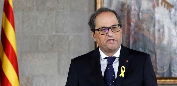O novo governo da Catalunha é dirigido pelo separatista Quim Torra