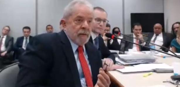 14.nov.2018 - Lula depõe sobre sítio em Atibaia em processo da Lava Jato - Reprodução