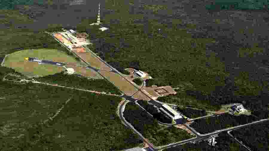 """Parceria também prevê """"áreas controladas"""" onde acesso poderá ser autorizado pelo Brasil - AEB/Divulgação"""
