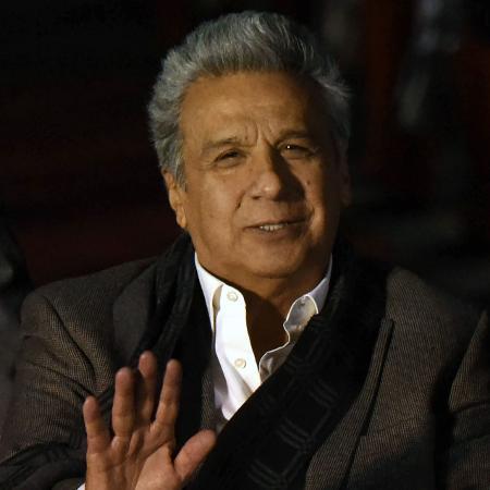 Lenín Moreno, presidente do Equador, anuncia que medida afeta 16 das 24 províncias do país - Orlando Estrada/AFP Photo