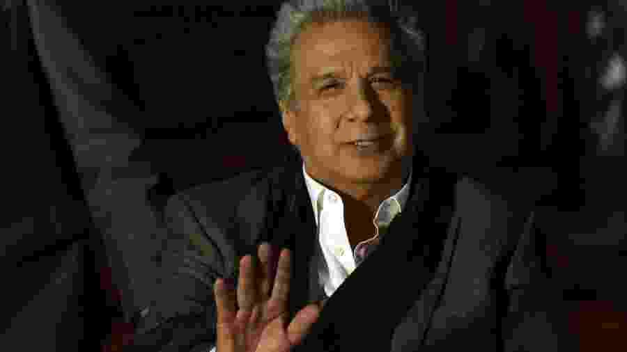 O presidente equatoriano Lenín Moreno - Orlando Estrada/AFP Photo