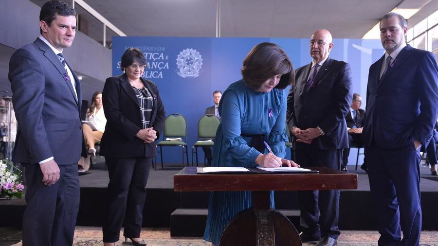 Pacto envolve representantes do Executivo, Legislativo, Judiciário e Ministério Público - Divulgação/Justiça e Segurança Pública