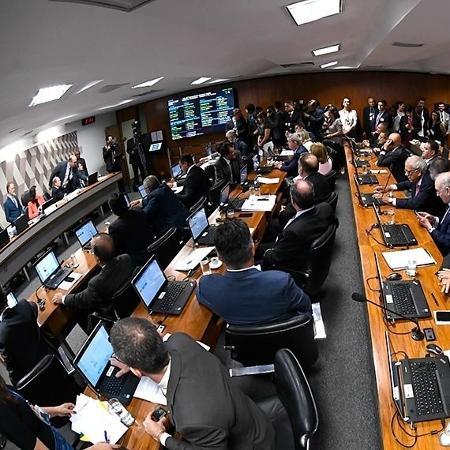 Plenário da CCJ do Senado vai discutir e votar o pacote anticrime do ministro Sergio Moro - Marcos Oliveira/Agência Senado