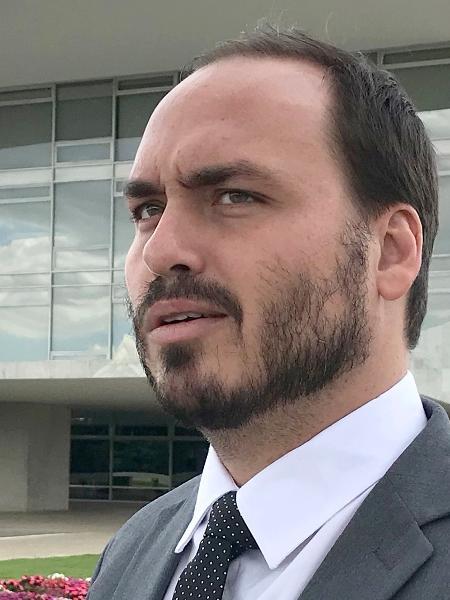 18.mar.2019 - O  vereador Carlos Bolsonaro (PSC-RJ) - Dida Sampaio / AE