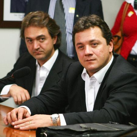 Os irmãos Joesley e Wesley Batista, executivos da J&F - Andre Borges/FolhaPress