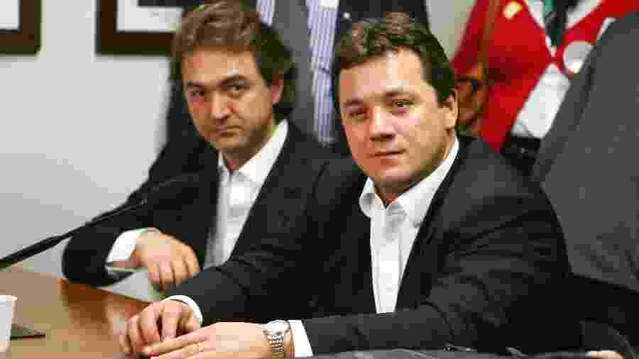 Joesley Batista e Wesley Batista - Andre Borges/FolhaPress