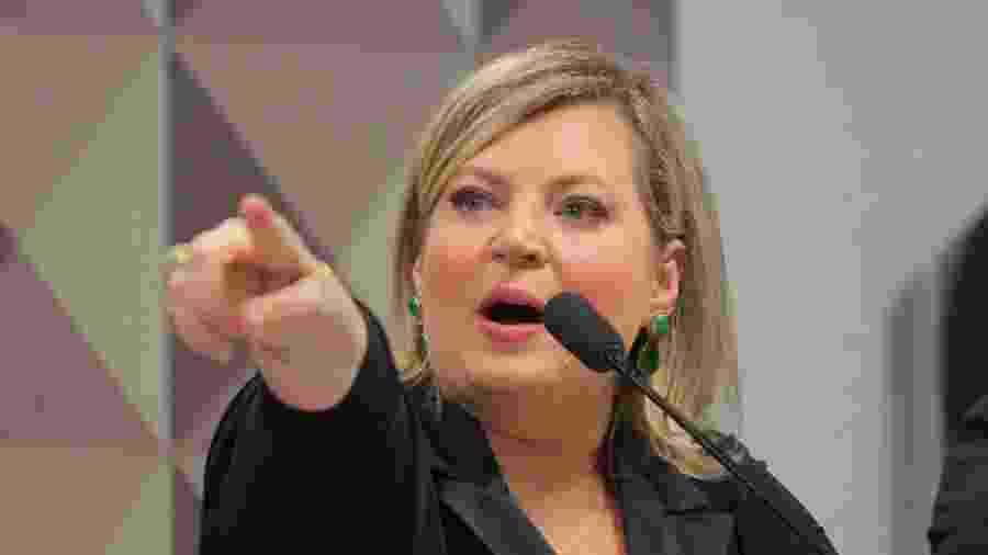 Joice Hasselmann dá depoimento à CPMI das Fake News - WAGNER PIRES/FUTURA PRESS/ESTADÃO CONTEÚDO