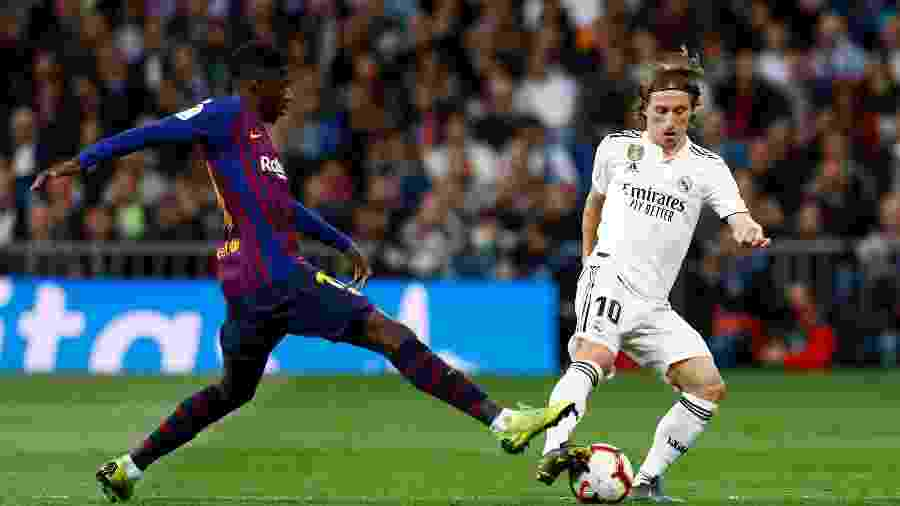 "Barcelona e Real Madrid protagonizam o ""El Clasico"" amanhã, veja onde assistir - Juan Medina"