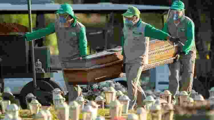 Número de mortes no Brasil ultrapassou a marca de 20 mil - EPA