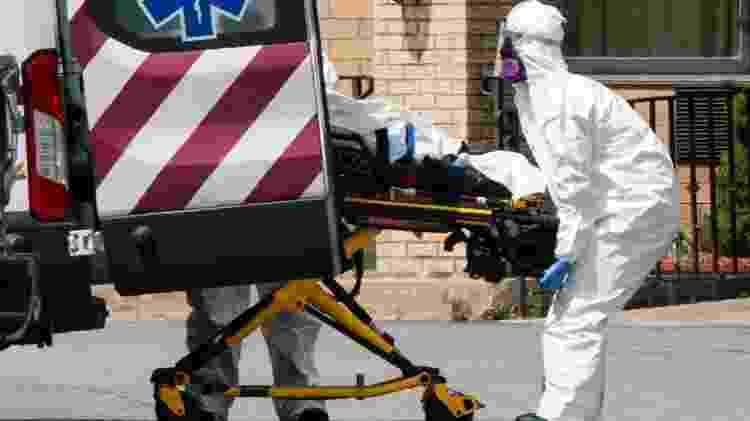 Economista sustenta que Estados Unidos não estavam preparados para enfrentar pandemia e não tomou medidas necessárias a tempo - Getty - Getty