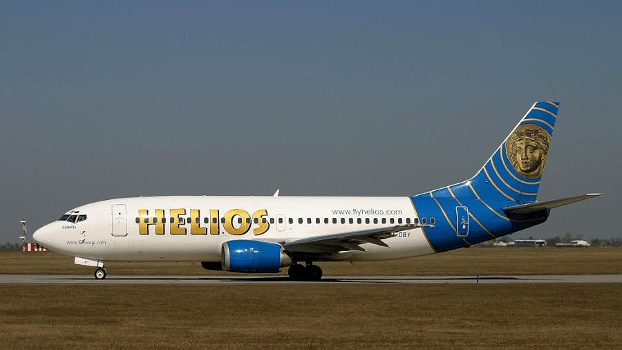 Boeing 737 da Helios que caiu na Grécia em 2005 - Wikimedia