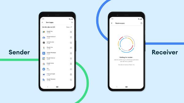 Atualização no sistema de compartilhar por perto do Android - Divulgação/Google - Divulgação/Google