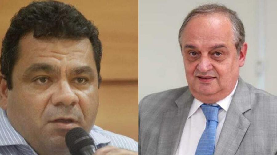 O médico Alexandre Chieppe (esq)assume a Secretaria de Saúde e o cientista contábil Nelson Rocha (dir) vai ficar à frente da Fazendaestadual - Divulgação/Governo do Rio