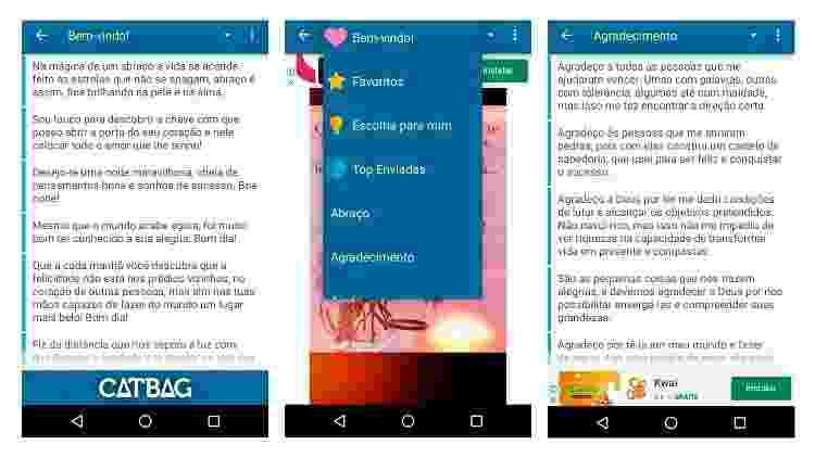 App para fazer mensagem para Dia dos Avós (Android) 5 - Reprodução - Reprodução