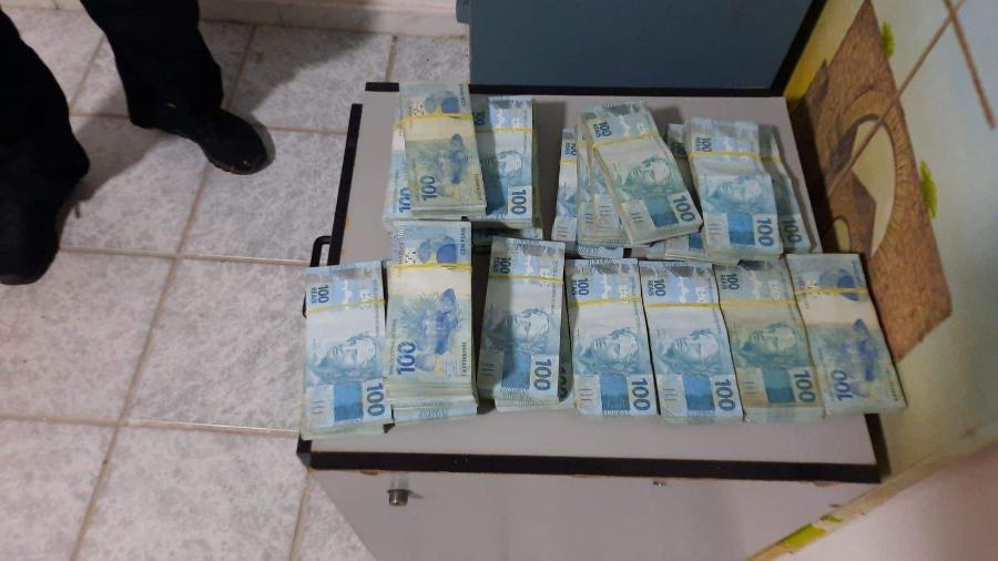 Polícia Federal apreendeu R$ 400 mil em casa de prefeito de São Mateus, Daniel Santana - Polícia Federal / Divulgação