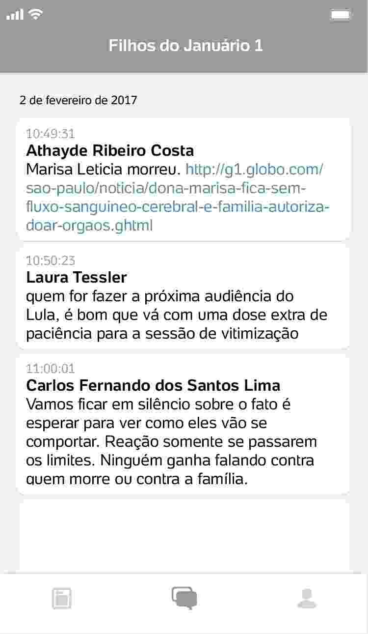conversa2_750x1290 Procuradores da Lava Jato ironizam morte de Marisa Letícia e luto de Lula