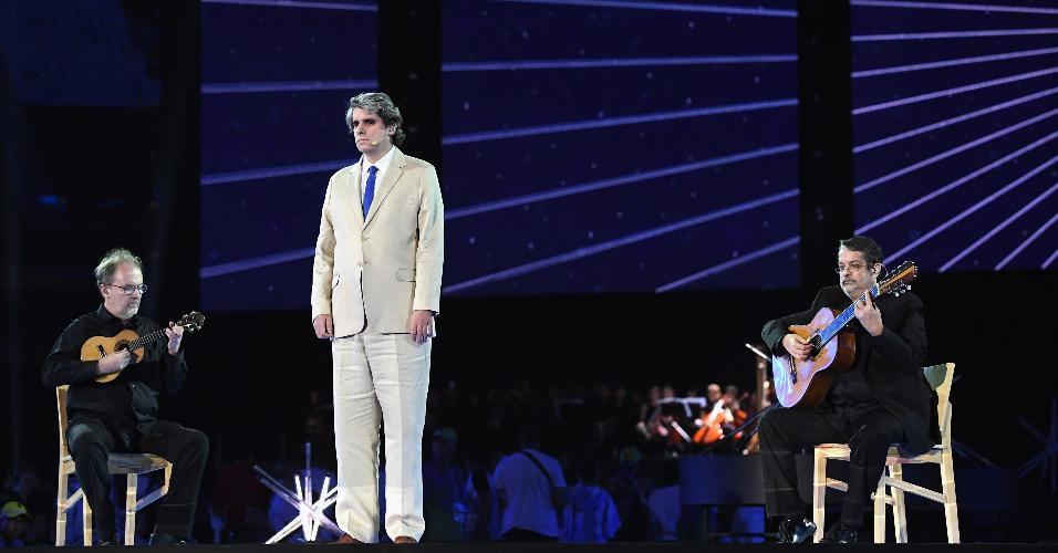 Autista e deficiente visual, Saulo Laukas foi o responsável por interpretar o Hino Nacional Brasileiro no Maracanã
