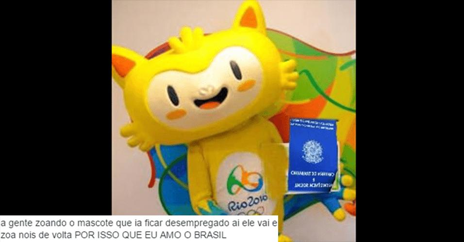 A internet se mobilizou para ajudar Vinícius, que já mostrou ter qualificação e experiência em grandes eventos
