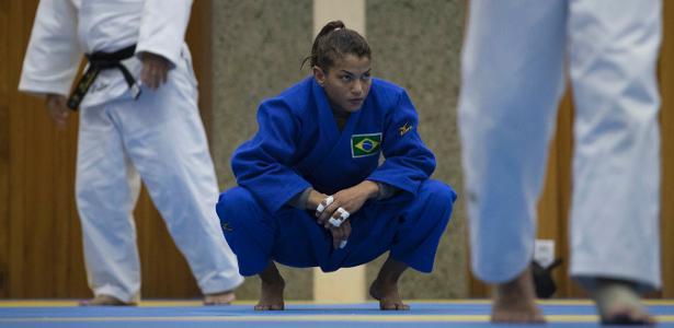 Campeão olímpica na categoria ligeiro (até 48 kg), Sarah Menezes lutará na categoria meio-leve (até 52 kg)