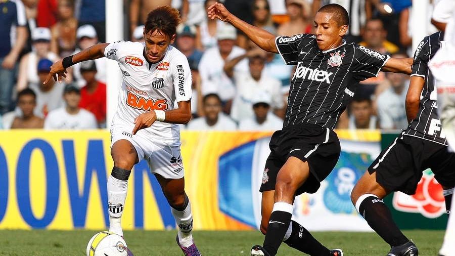 Marquinhos, hoje no PSG, marcava Neymar em clássico paulista de 2012