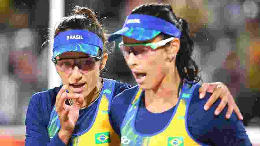Bárbara fez dupla com Ágatha na Olimpíada - Ruben Sprich/Reuters