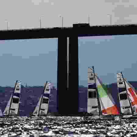 Ponte Rio-Niterói, principal ligação entre a capital fluminense a a cidade de Niterói, na região metropolitana - Clive Mason/Getty Images