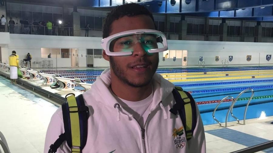 Por que óculos futuristas são armas da natação do Brasil na Rio-2016 ... 754bd53ea8