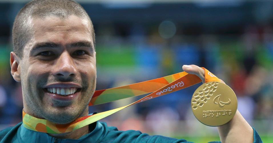 Daniel Dias conquista quarta medalha de ouro no Rio de Janeiro