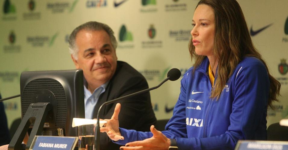 Fabiana Murer anunciou aposentadoria nesta quinta-feira