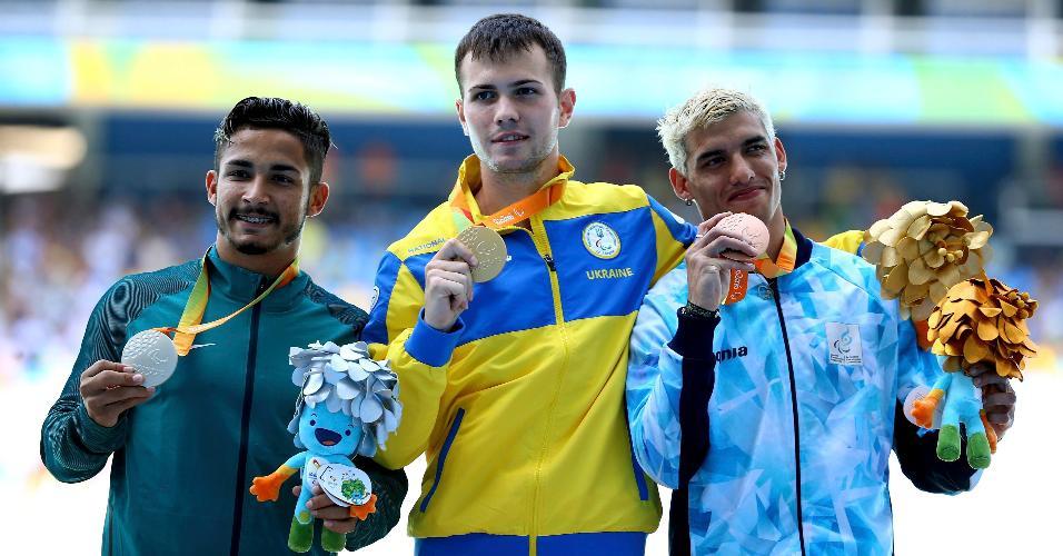 Brasileiro Fabio Bordignon conquistou a prata nos 200 m, classe T35