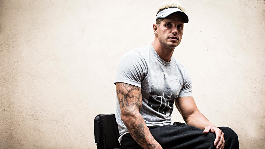 Fernando Fernandes, ex-BBB e atleta paralímpico - Eduardo Kanpp/Folhapress