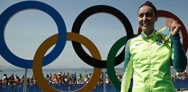 Bronze na Rio-2016, Poliana Okimoto é uma das candidatas ao prêmio Atleta da Torcida
