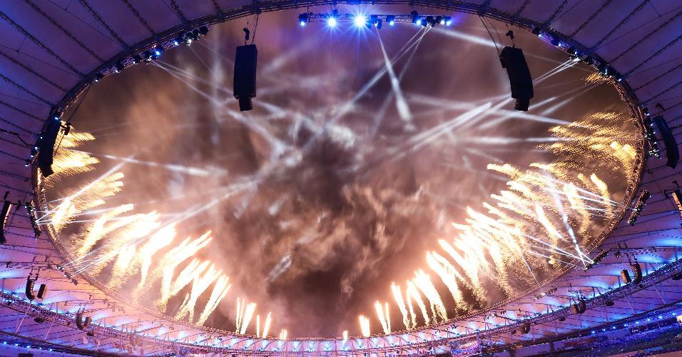 Cerimônia de encerremento dos Jogos Paraolímpicos do Rio de Janeiro