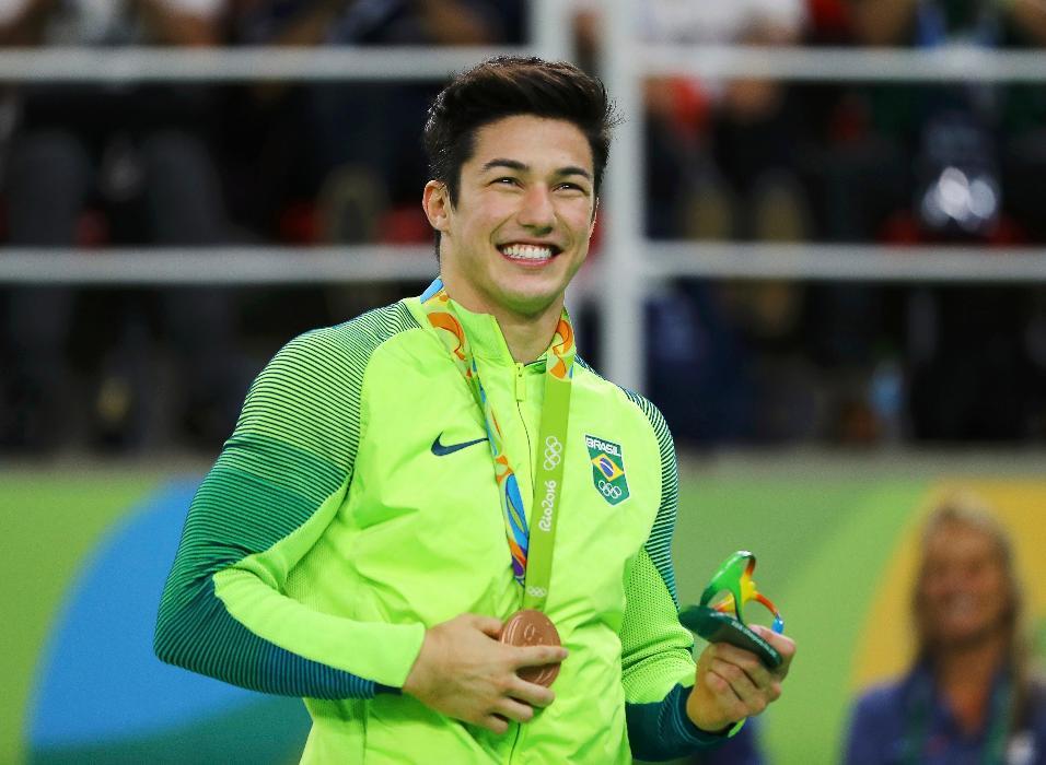 Arthur Mariano vibrou com a conquista do bronze