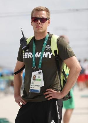 Stefan Henze, técnico alemão da canoagem slalom que faleceu após acidente no Rio