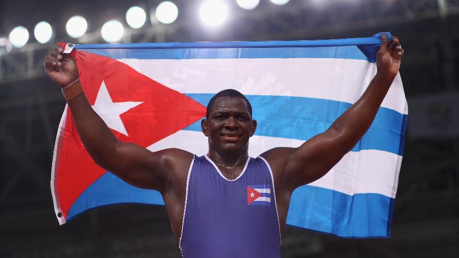 Mijain López, lutador cubano - Ryan Pierse/Getty Images