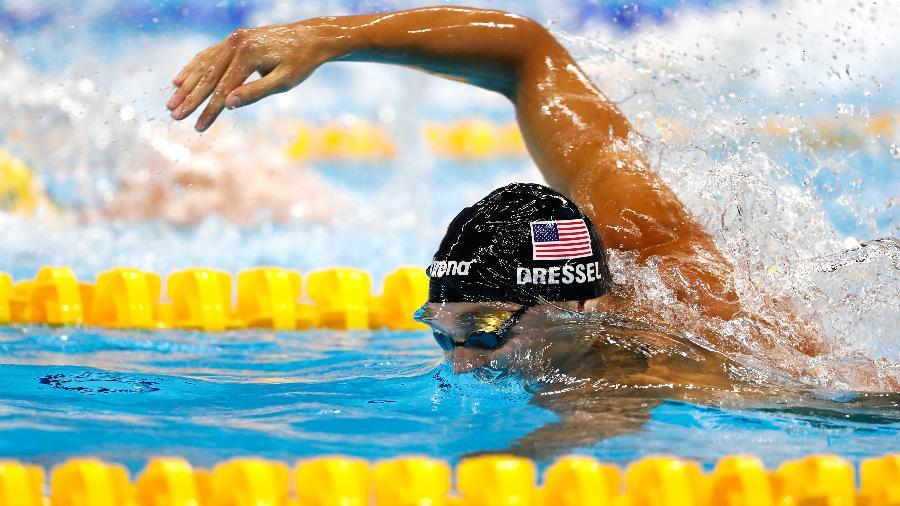 Caeleb Dressel, dos Estados Unidos - Clive Rose/Getty Images