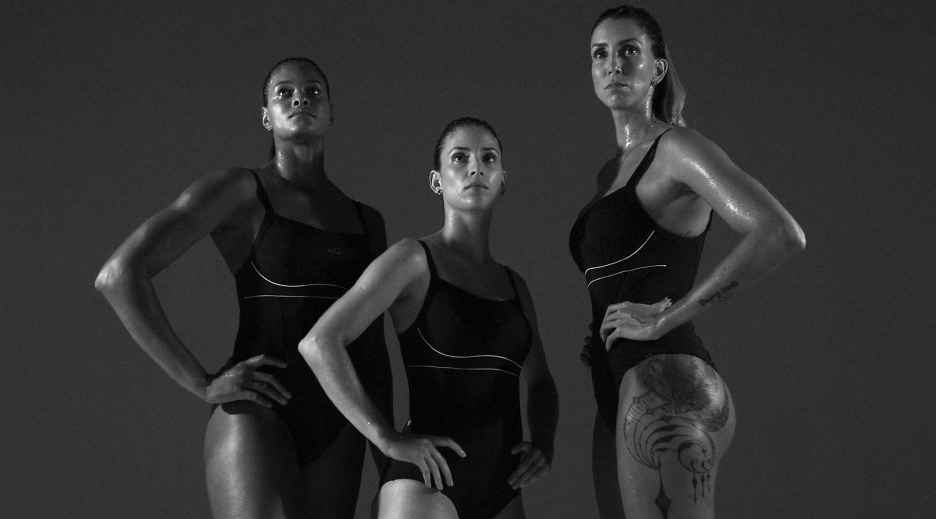 Atletas em Movimento: Adenízia, Camila Brait e Thaísa, do vôlei