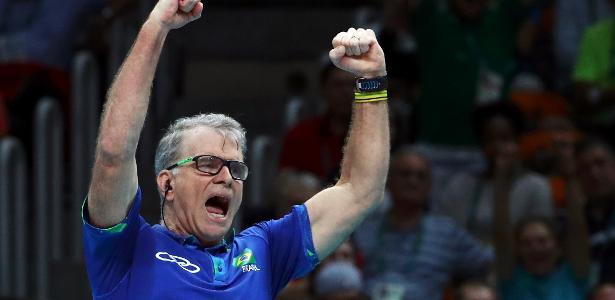 Bernardinho foi campeão no Rio de Janeiro - REUTERS/Yves Herman