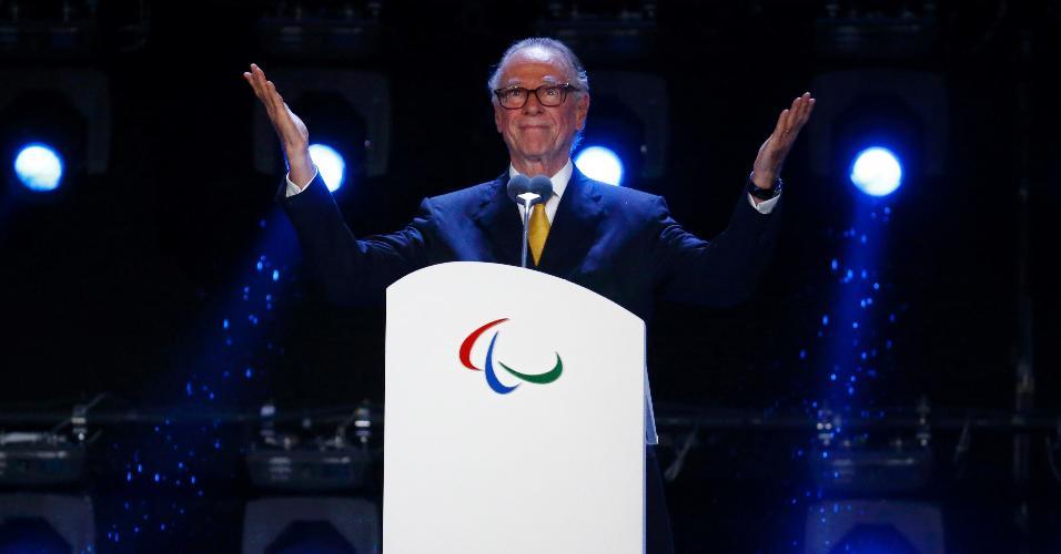 Carlos Arthur Nuzman participa de cerimônia de encerramento das Paralimpíadas
